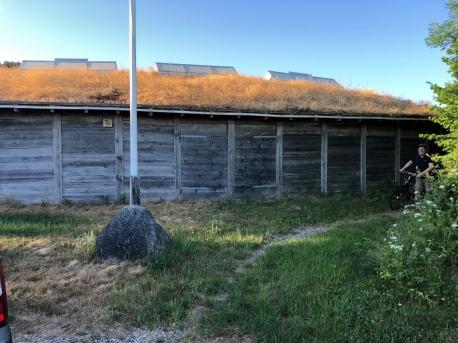 Jels Vikingeby (ca. 200 meter længere ude end Planetariet - på modsatte side). Foto: Janus Lynggaard.