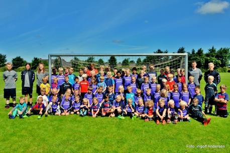 Fodboldskolen i 2017. Foto: Ingolf Andersen
